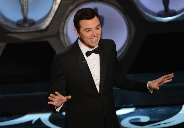 Oscars host Seth McFarlane