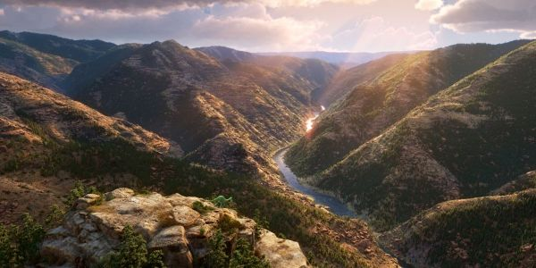 The Good Dinosaur features some of the most breathtaking landscape animation you will ever see.